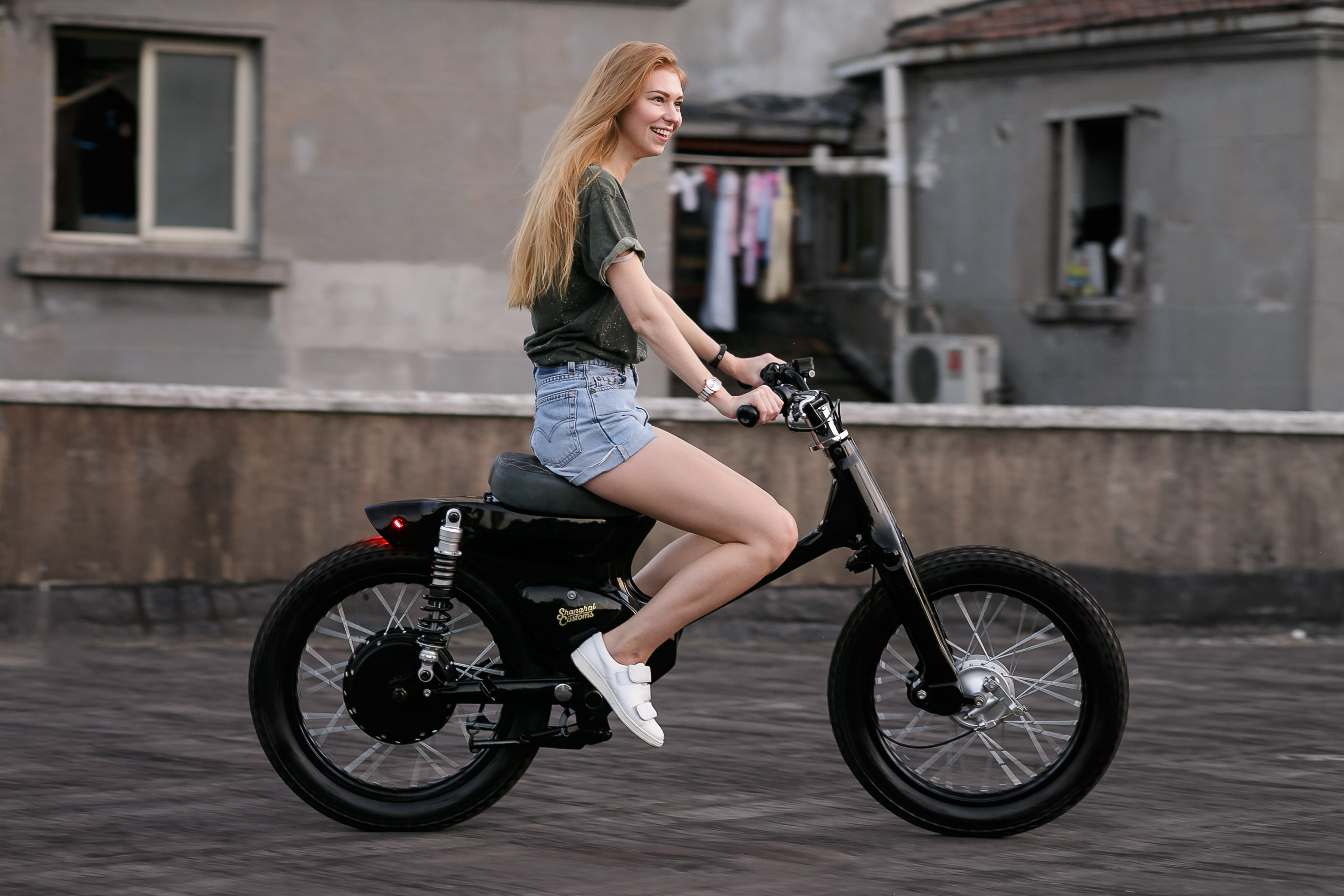 Ecub Electric Motorcycle By Shanghai Customs Evnerds
