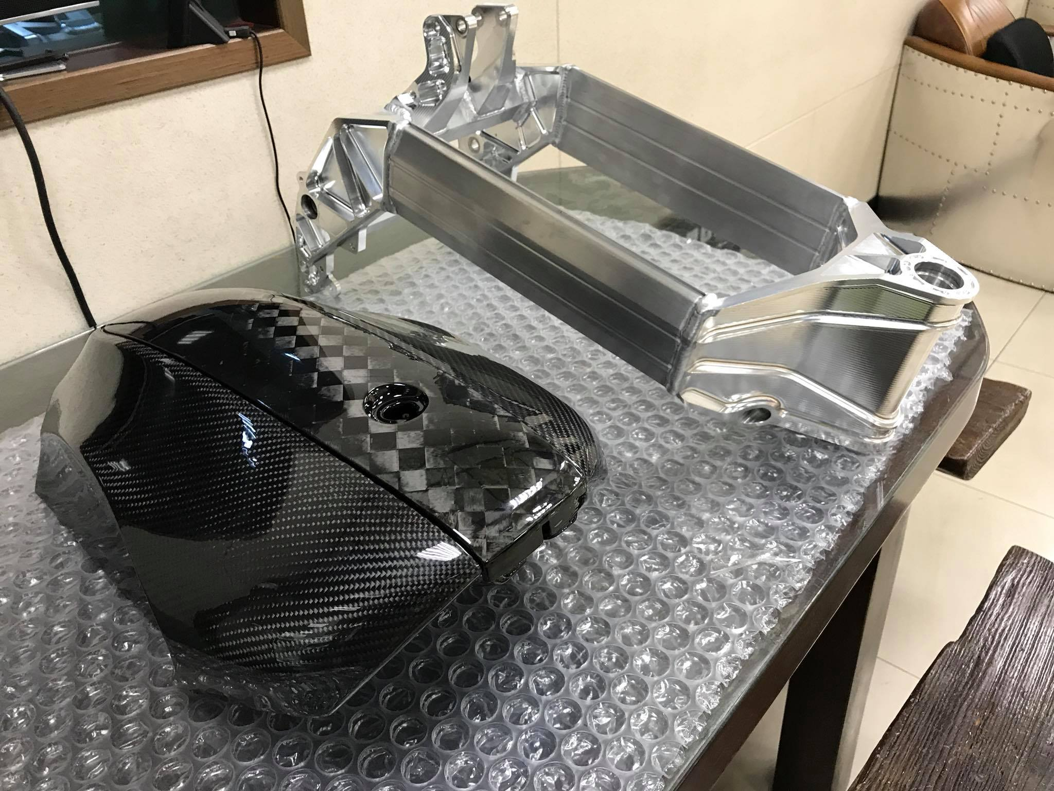 carbon fiber electric motorcycle parts