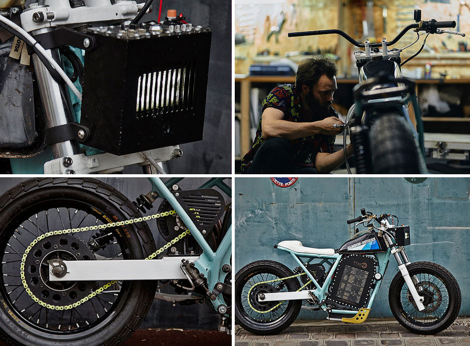 electric motorcycle 80kw