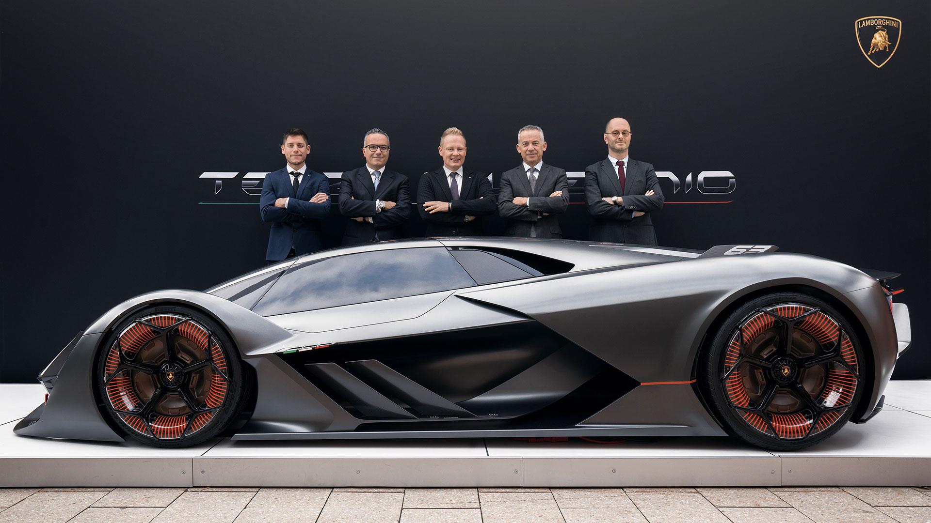 Lamborghini Terzo Millennio Is Bitchin Evnerds