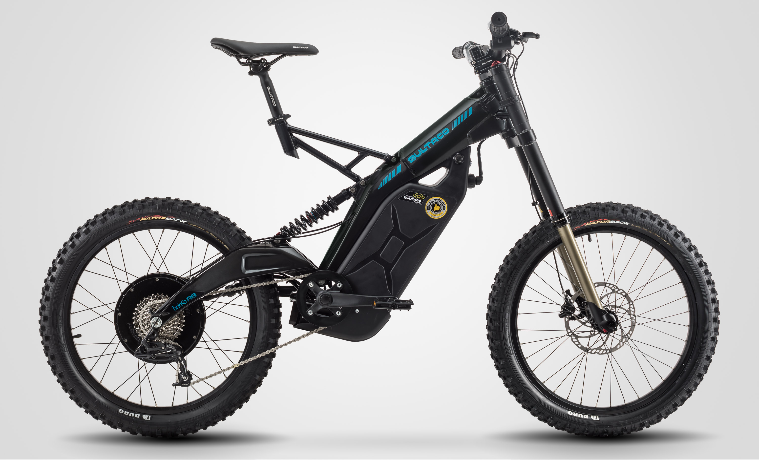 Bultaco is back with a stripped down eMTB the Brinco RB | EvNerds
