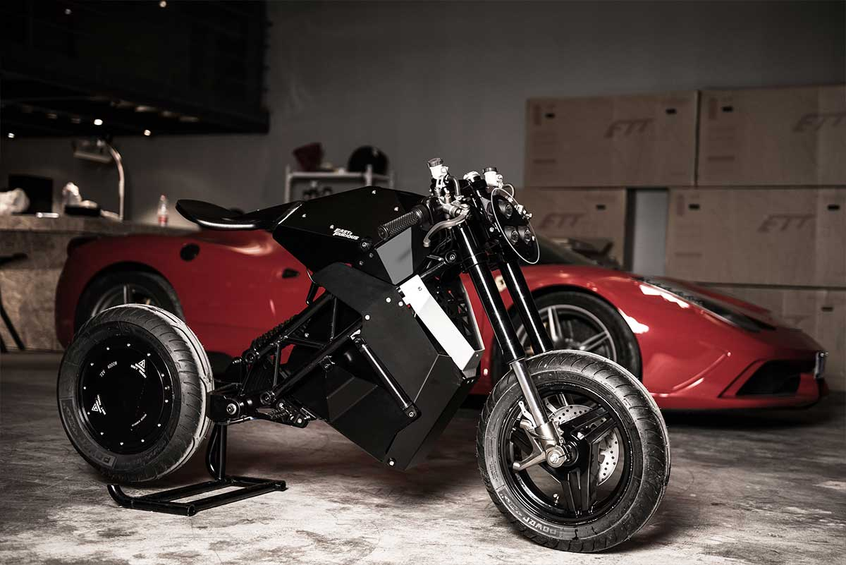 H1L LIMITED EDITION Fast and the Furious ELECTRIC MOTORCYCLE VIDEO