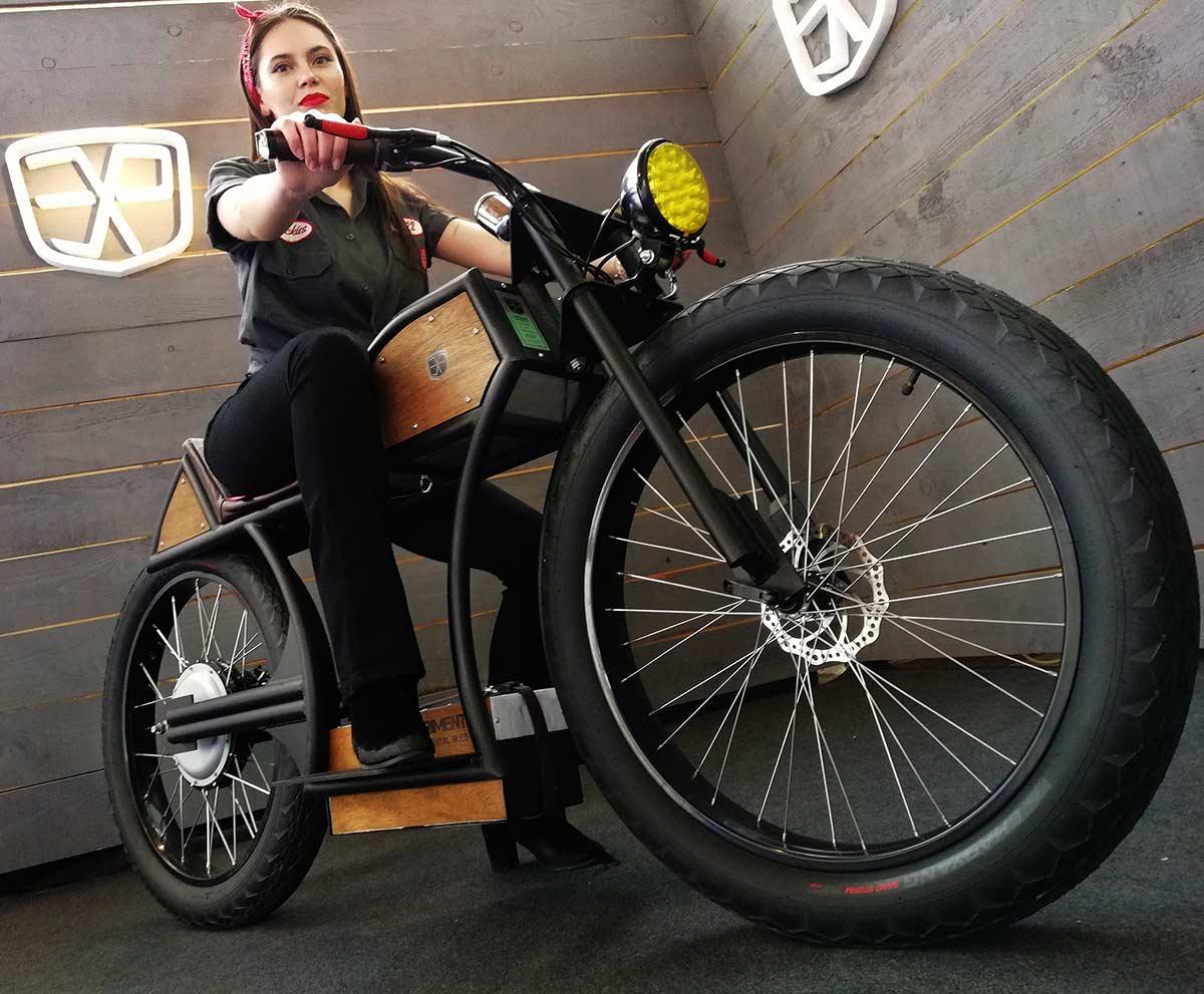 Custom Electric Motorcycle