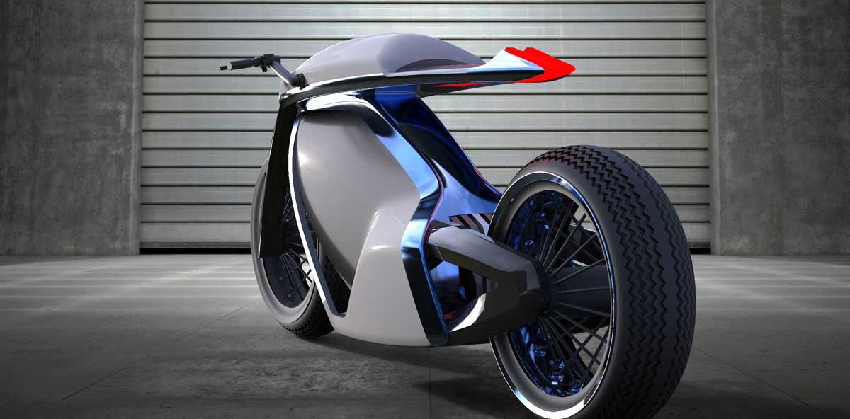 Electric Cafe Racer Concept And The Philosophy Behind It Evnerds