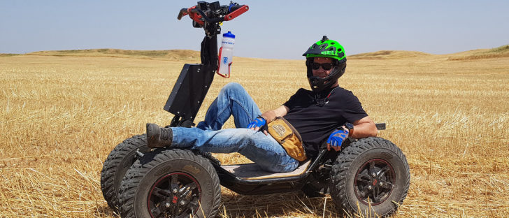 Dsraider And Ezraider 4 Wheel Electric Vehicles From Israel