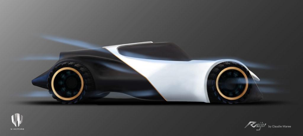Raiju Electric Hyper Sport Car Concept For W Motors Evnerds Последние твиты от w motors (@wmotors). electric hyper sport car concept for w