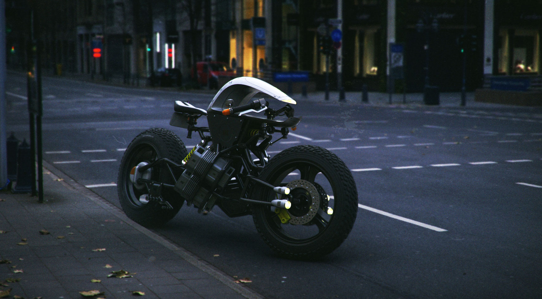 Electric Motorcycle Concept Bike From Los Angeles