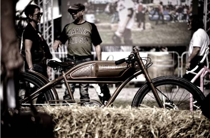 Custom Cruiser E-bikes by Innovative French Cycle lover   EvNerds