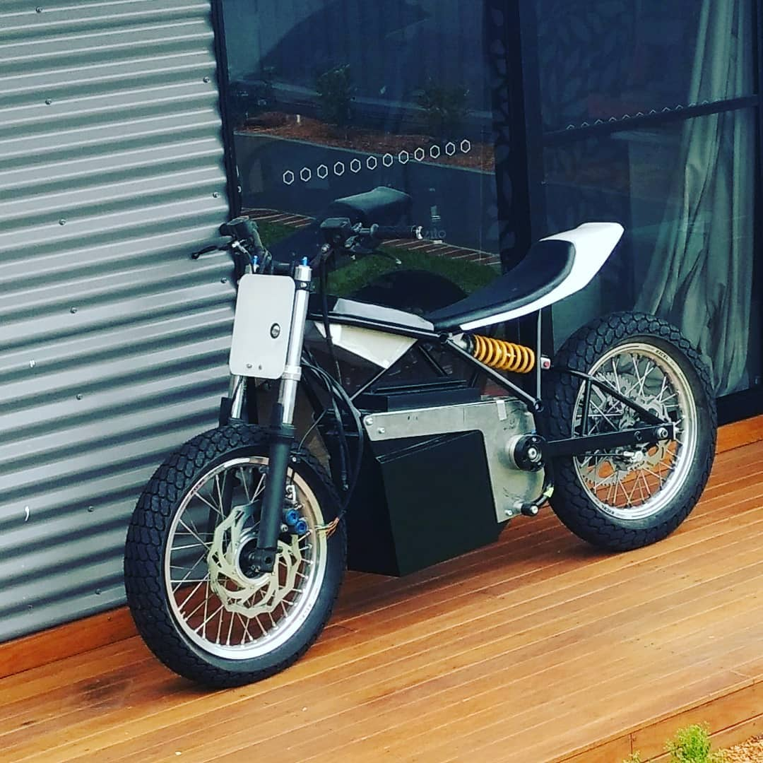 electric motorcycle electric tracker diy