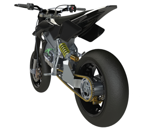 Axiis Liion Electric Supermoto from Portugal | EvNerds