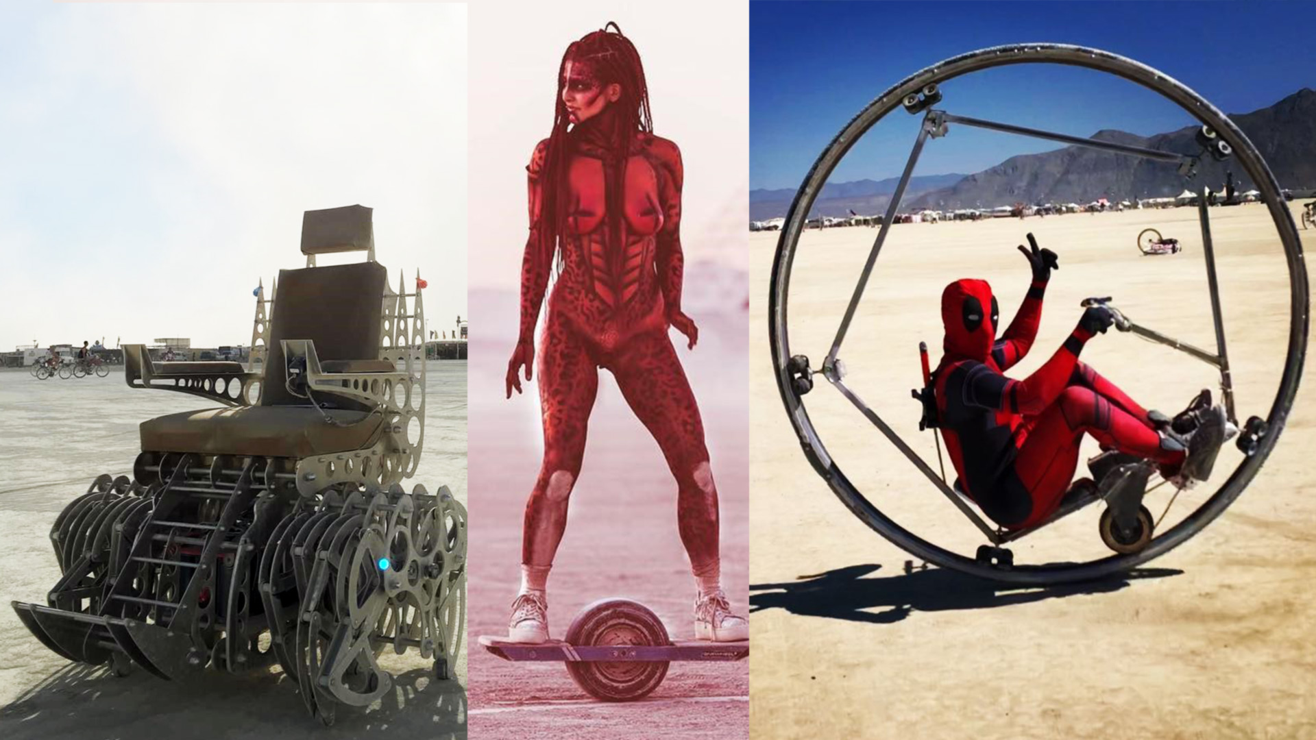 Burning Man Electric Vehicles And Their Owners Are Crazy Creative!