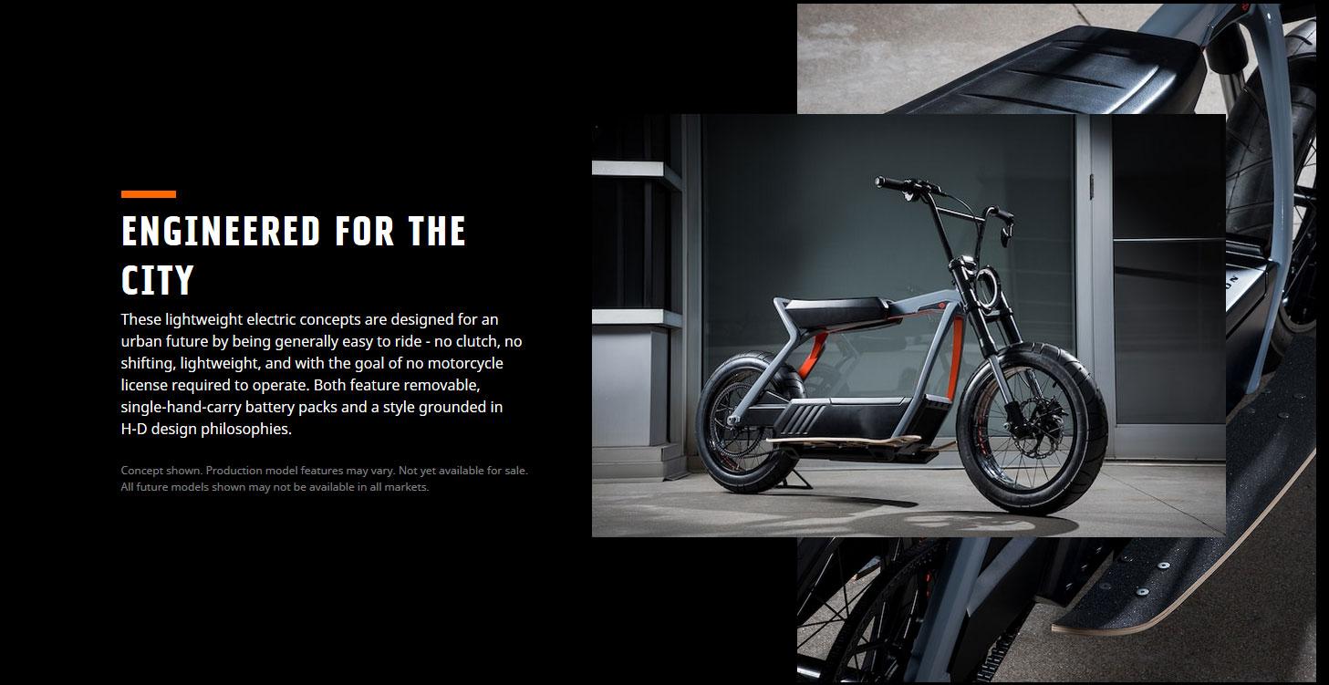 Harley Davidson new 2019. Electric Scrambler and Light ...