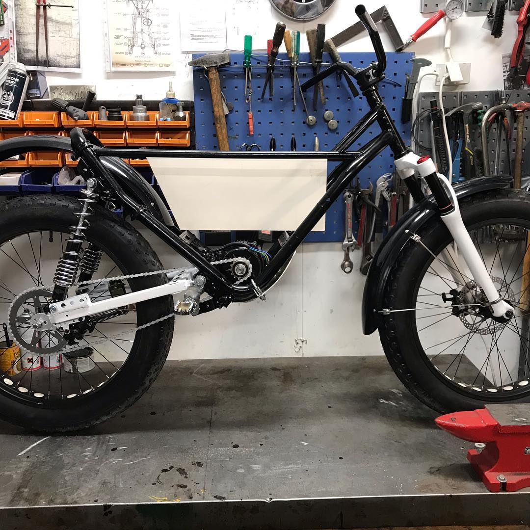 Paul's E-trail with Cyclone Mid-Motor and Other Weird