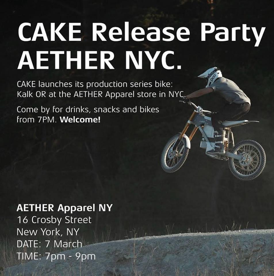Cake Electric Dirt Bikes Hit New York City Evnerds