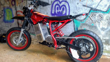 Yamaha YG-1T Electric Moped Conversion | EvNerds