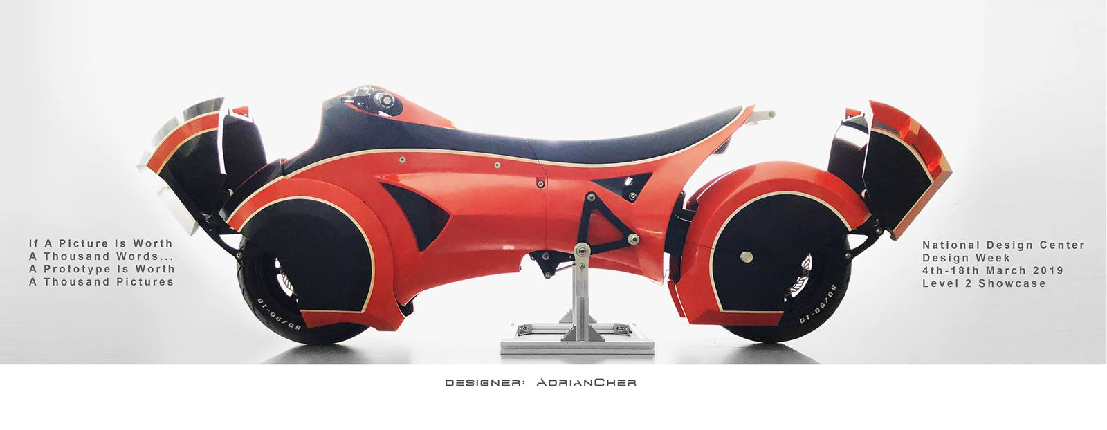 Ultrabike Prototype for Akira bike and Tron Machine Lovers!