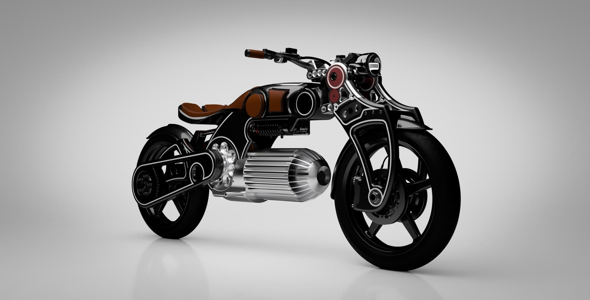 Curtiss Hades Electric Motorcycle is Designed by Nesbitt