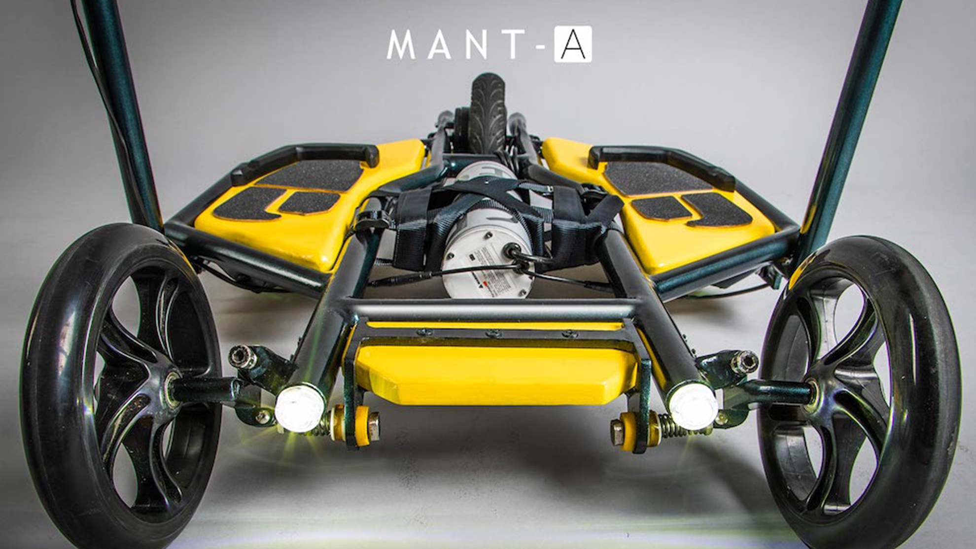 MANT-A electric motor assisted personal vehicle