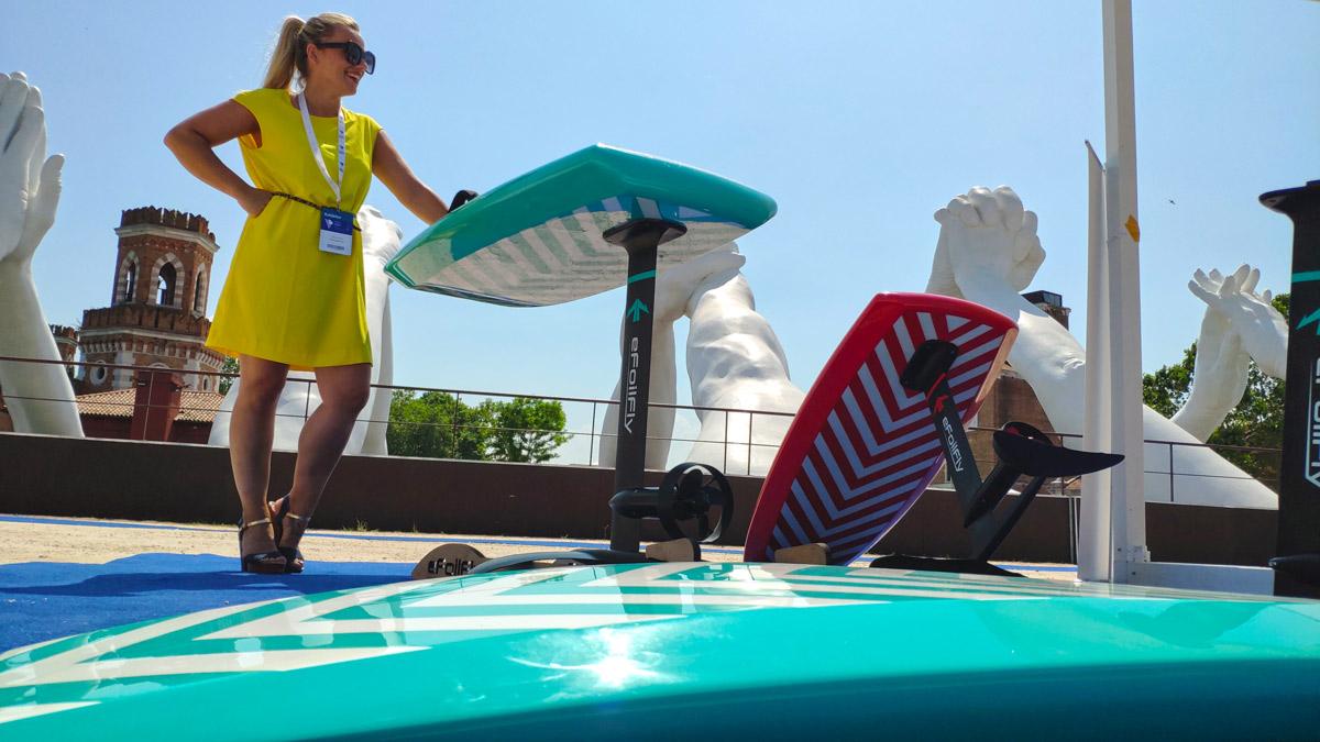 eFoilFly NEPTUN X 45 Km/h electric hydrofoil board