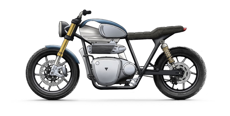 Electric Triumph – Concept Sketch
