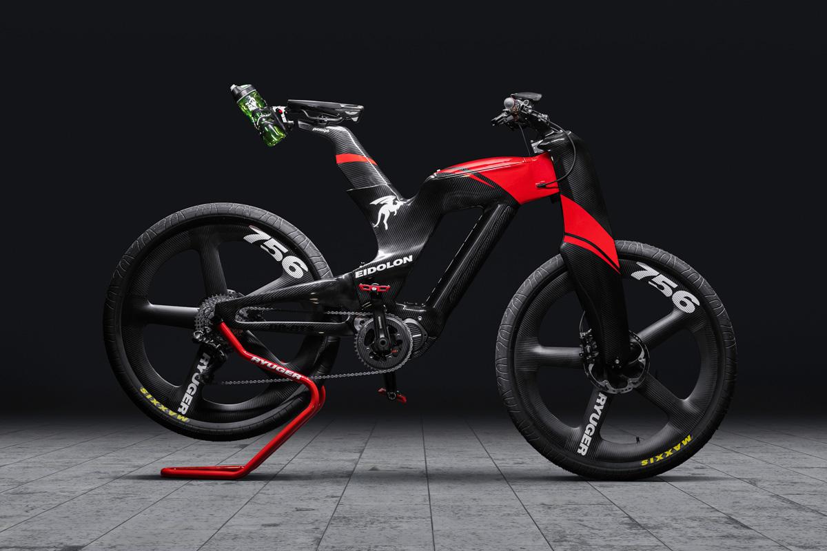 2021 Ryuger Eidolon BR-RTS Full Carbon Monocoque E-Bike
